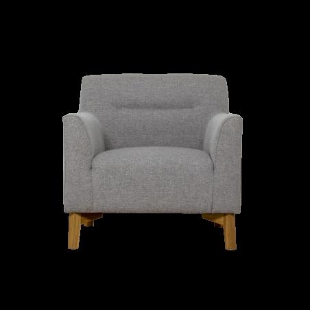 Kiruna fotelis Nova l.grey