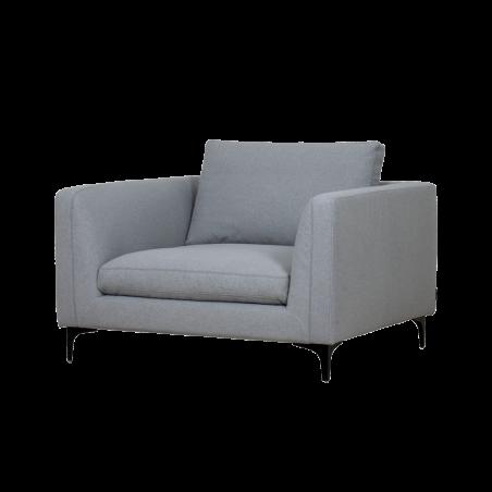 Decrux fotelis Solid l.grey
