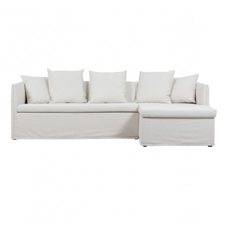 Sofa projektas su šezlongu...